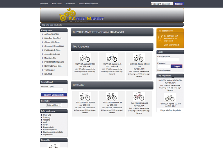 BCM Bicycle-Market