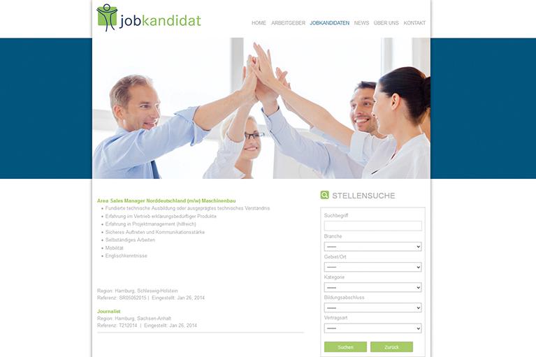 Jobkandidat Stellenmarkt