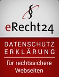 eRecht24-Siegel - Partnerlink